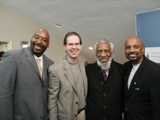 Dr. Willie Jolleywith Bruce Johnson and Dick Gregory